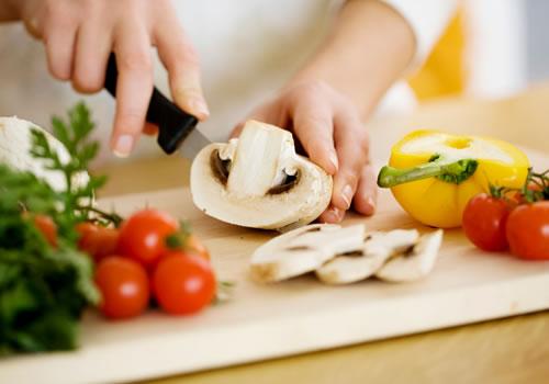 Préparation des repas avec les titres-services
